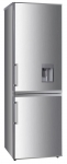 Двухкамерный холодильник Ascoli ADRFI345WD